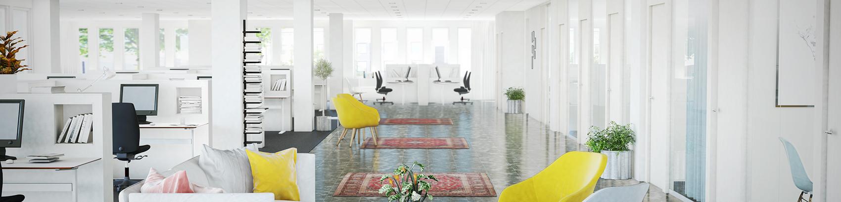 Visualiseringsbild ledigt kontor