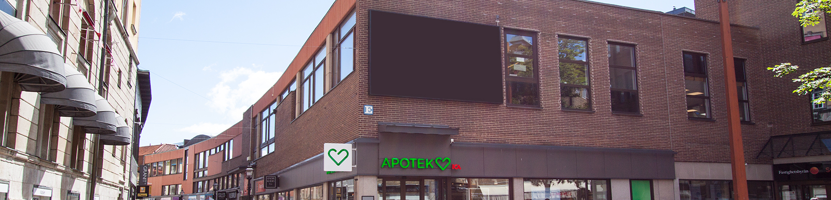 Ledig lokal mitt i Jönköping city