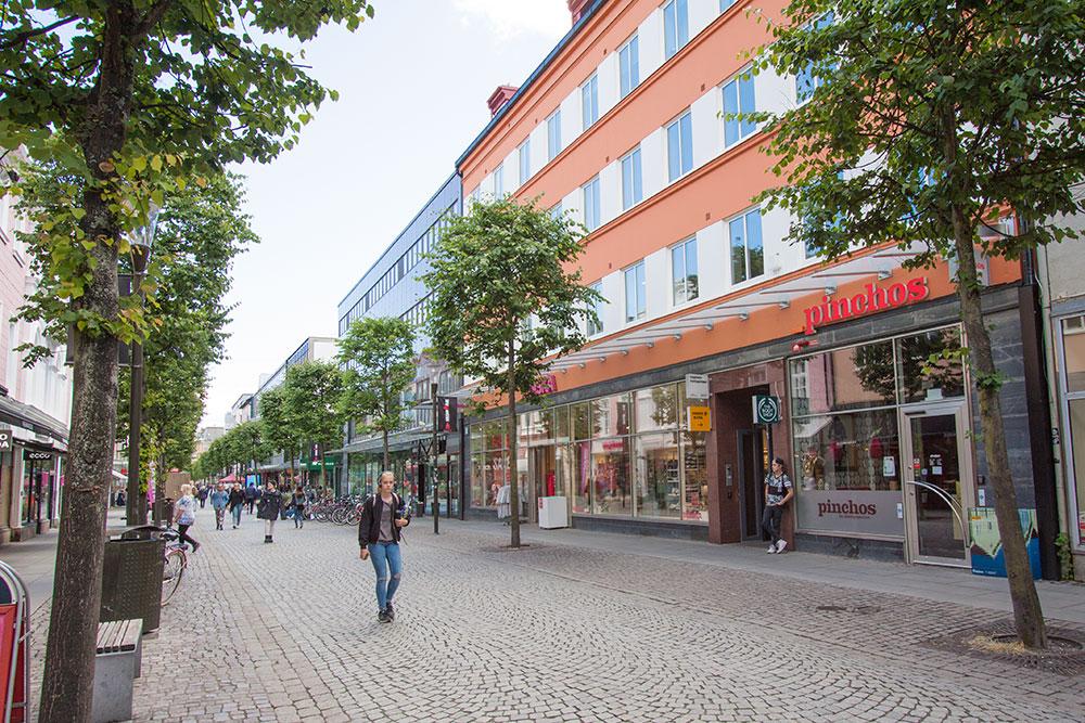 Ledigt kontor utmed Östra Storgatan i Jönköping