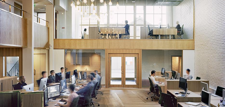 Kontorslokal för Ny Collective i Jönköping